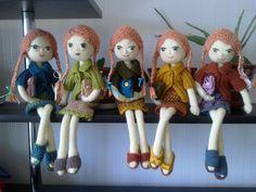 Adorable dolls by Jekaterina - (it looks like modified A&C pattern)