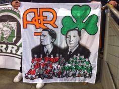 Pezza Curva Sud Roma & Gate 13 Atene, 8/11/2012