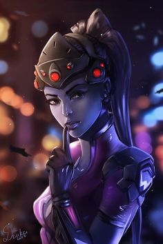 Fatale Overwatch, Overwatch Widowmaker, Overwatch Fan Art, Overwatch Drawings, Overwatch Comic, Female Characters, Anime Characters, Fictional Characters, Wonderland Events