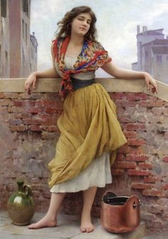 Eugene de Blaas, nghệ thuật, tranh vẽ