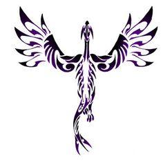 love this tribal Lugia (pokemon) tattoo!
