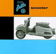1956 Zündapp Bella Scooter - Welcome to Classic Motorcycles: Open