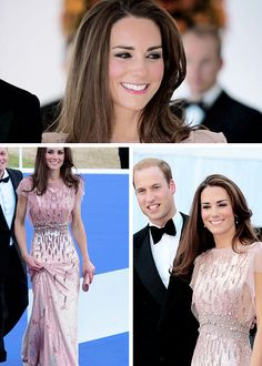 Duke and Duchess of Cambridge at ark 10th anniversary gala dinner