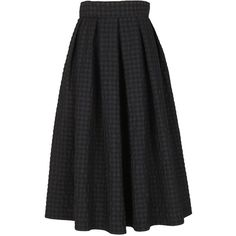 Plaid Skirt V ($183) ❤ liked on Polyvore featuring skirts, nero, womenclothingskirts, tartan skirt, floor length skirt, plaid maxi skirt, green maxi skirt and multi colored maxi skirt