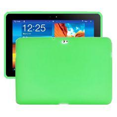 Soft Shell (Grønn) Samsung Galaxy Tab 10.1 P7500 Deksel Shell, Samsung Galaxy, Phone, Cover, Telephone, Phones, Blanket, Shells