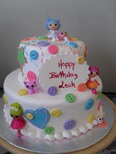Girl's birthday cake by Katrina's Bakery (508)674-5051