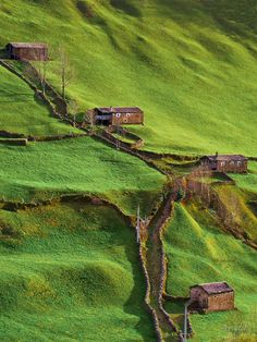 Spring Hillside, Cantabria, Spain http://bluepueblo.tumblr.com/post/49008795523/spring-hillside-cantabria-spain-photo-via