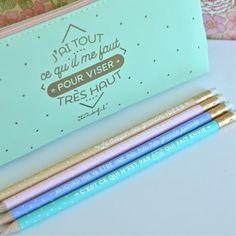 Sachet 4 crayons Mr Wonderful