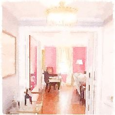 Painted in @waterlogue by @jessikaholiday.