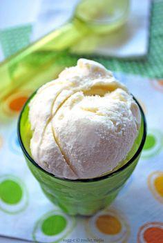 helado de coco fácil