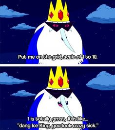 30 Ideas quotes adventure time ice king for 2019 Adventure Time Quotes, Adveture Time, Land Of Ooo, Pokemon, Ice King, Finn The Human, Jake The Dogs, Funny Movies, Thing 1