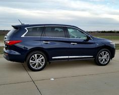 2015 Infiniti QX60: a terrific SUV for family holidays