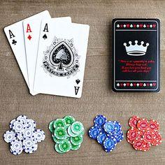 Juego de poker magnético de bolsillo
