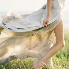 Beautiful, soft, flowing fabrics... heavenly.