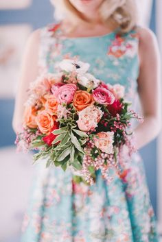 Chanele Rose Flowers Spring wedding flowers /Photography: Jenny Sun Photography - jennysunphotography.com/