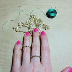 zarter Ring / DIY ring #ring #DIY