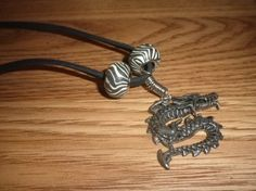 Dragon Necklace Stainless Steel Necklace by NAESBARGAINBASEMENT