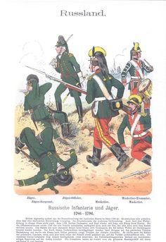 Band VII #47 - Russland Infanterie und Jager 1786-96