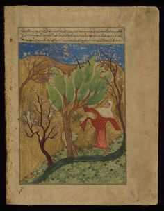 This illustration depicts the birth of Buddha (Shākmūnī). W676