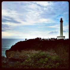 """Lighthouse in Biarritz"""