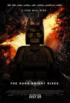 Lego Movie Poster: The Dark Knight Rises