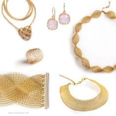Jewelry making DIY kit - DIY Jewelry kit - Craft kit - Crochet kit - Crochet Patterns - EXTENDED kit vol 2 - Invisible Spool Knitting kit by Yoola on Etsy