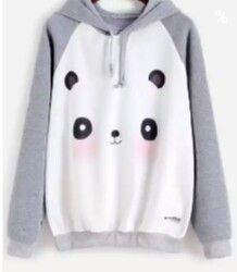 cb0709d970 Shop Raglan Sleeve Cartoon Panda Print Hooded Sweatshirt online  Australia,SHEIN offers huge selection of Sweatshirts more to fit your  fashionable needs.