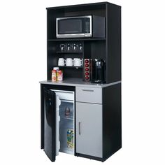 Microwave / coffee / mini fridge stand (With images ...
