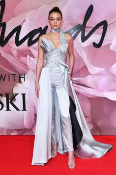 Gigi Hadid attends the 2016 British Fashion Awards at the Royal Albert Hall in London, UK.