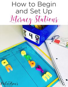 Setting up and beginning literacy stations is made easy when you simplify what you do! No more weekly prep for this teacher! See how she does it!