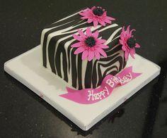 zebra print cake by www.fortheloveofcake.ca, via Flickr Cupcake Cookies, Cupcakes, Zebra Print Cakes, Zoo Cake, Birthday Cake, Desserts, Cleaning, Awesome, Food