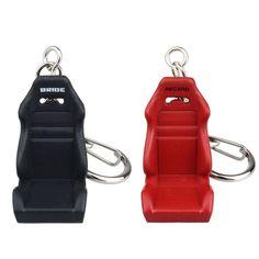 Nouvelle Arrivée Populaire Creative Car Auto Métal Mini Siège Clé Chaîne Porte-clés Porte-clés
