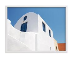 """""""whitewashed"""" - Art Print by Ava Thomson in beautiful frame options and a variety of sizes."""