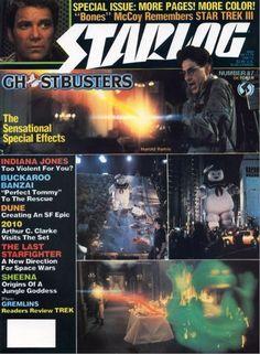 Starlog Magazine Covers Star Trek | WEIMAR WORLD SERVICE: The Starlog Project: Starlog #87, October 1984 ...