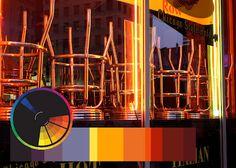 Beverly Ash Gilbert: Color Inspiration - Orange Bar Stools