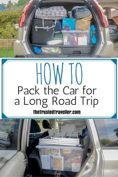 Packing tips for travel, travel checklist, vacation packing, road trip Road Trip Snacks, Road Trip Packing, Road Trip Essentials, Packing Tips For Travel, Travel Hacks, Vacation Packing, Road Trip Tips, Travel Gadgets, Cruise Vacation