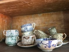 Creil Monterau cups