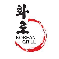 korean restaurant logo - Google Search Food Logo Design, Logo Food, Menu Design, Korean Grill, Korean Food, Chinese Food, Grill Restaurant, Restaurant Logos, Grill Logo