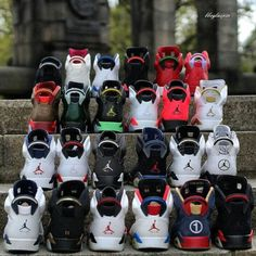So cute a Jordan family's collection👩👦👨👧