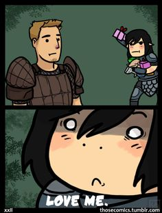 Dragon Age: Origins; Alistair, LOVE ME - hPolawBear