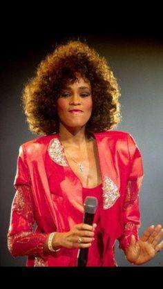 My girl Whitney Houston...#TheVoice