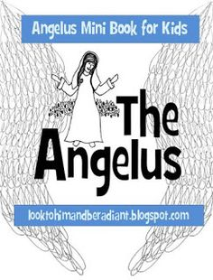 Printable Angelus Mini Book for kids