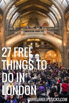 27 Free things to do when you´re on a tight budget in London