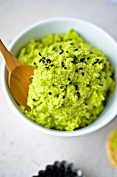 Edamame dip. #healthy #recipes #appetizers