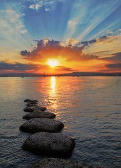 ᎦųŋʀįᎦᏋ αŋɖ ᎦųŋᏕᏋɬ (Sunset at Syracuse by Emanuele Torrisi).