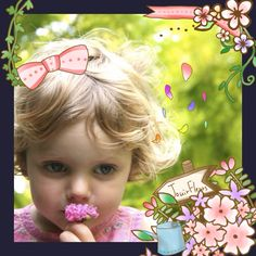 """One touch photo editing with iOS app """" #picosweet """" >> http://favs.jp/picosweet/ #sweet #deco #collage #kawaii #flower"""