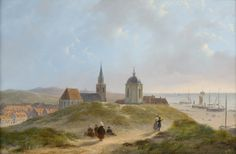 View_on_Scheveningen._by_Bartholomeus_Johannes_van_Hove.jpg (3703×2420)