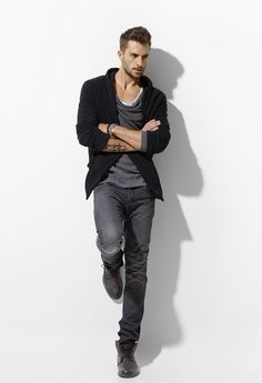chill look - Rafael-Lazzini-for-ZARA-Young-February-2011-Lookbook-MaleModelSceneNet-07.jpg (546×800)