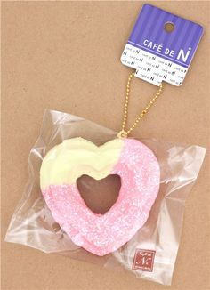 You get all 3 decoed hk donut squishies :) Hello Kitty Pinterest Squishies, Hello kitty ...