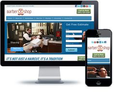 Barber Shop Website Template - http://videogalleria.net/downloads/barber-shop-website-template/